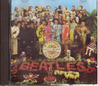 Beatles: Sgt.pepper's Lonely Hearts Club Band - Cd 1987 No Barcode