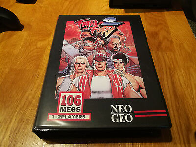 NEO GEO MVS Fatal Fury 2 mit Shockbox