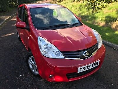 *2009 Nissan Note 1.4 Acenta 5Dr / Full Mot & History / Bluetooth / Low Mileage*