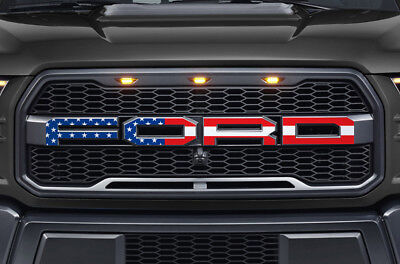 Ford F150 Svt Raptor Grille Insert Graphics Stickers Decals 2015