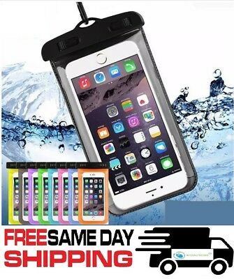 New Waterproof Bag Underwater Pouch Dry Case Cover For Cell Phone iPhone Samsung