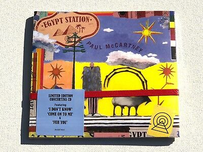 Paul McCartney - Egypt Station - Limited Edition Concertina CD - New - Sealed