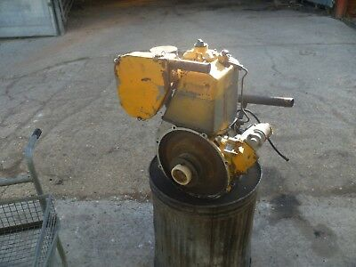 Lister AD1 engine / bomag bw71 engine. Complete, runs, spares or repair.£180+VAT