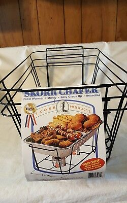 Skorr Wire Chafing Stand (3 pack) GLOSS BLACK