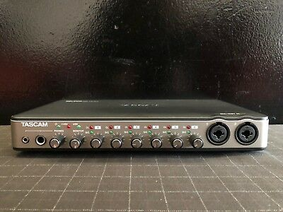 Tascam US-800 US 800 USB Recording Audio MIDI Interface W/ USB and Software