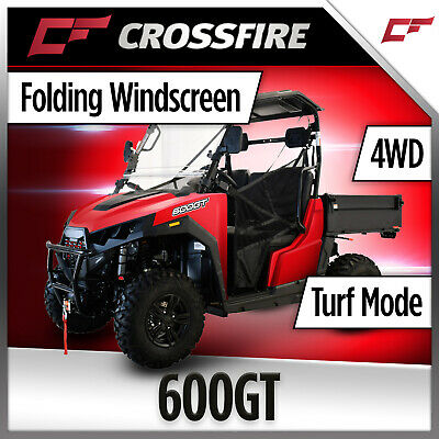Crossfire 500GT UTV 500cc 4x4 Diff Lock EFI  Tipper Windscreen  Side x Side TOW