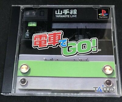 Densha De Go For Japanese PS1 Import  ***USA Seller***