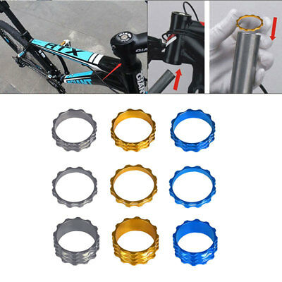 3pcs Bicycle Headset Spacer MTB Road Bike Headset Washer Front Stem Fork Spacer