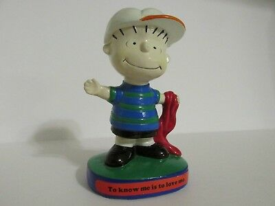 Snoopy Peanuts Charlie Brown Determined Vintage Figure Figurine Linus 1971