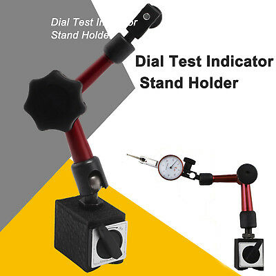 Universal Flexible Magnetic Metal Base Holder Stand Dial Test Indicator Tool UK