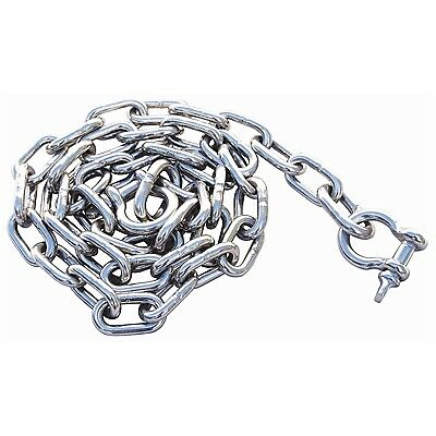 """50 ft 5//16/"""" BBB Marine Anchor Chain 144 µm Micron Thick Galvanized Boat DIN766"""