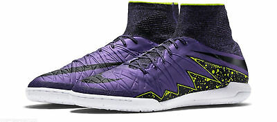 sports shoes 8af7b d4f23 NIKE HYPERVENOM X PROXIMO IC MEN INDOOR SOCCER SHOES Purple 747486-505 SZ 9  11.5