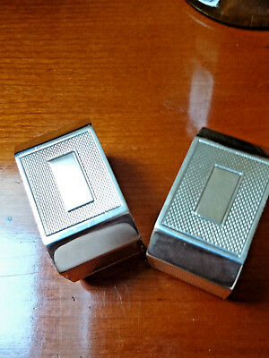 Pair of Sterling Silver Art Deco Napkin Rings