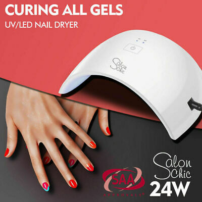 Salon Chic LED UV Nail Lamp Gel Polish Dryer Manicure Curing Smart Sensor Light[