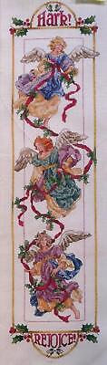 Angel Bell Pull Cross Stitch Chart Design No.141 - Donna Vermillion Giampa