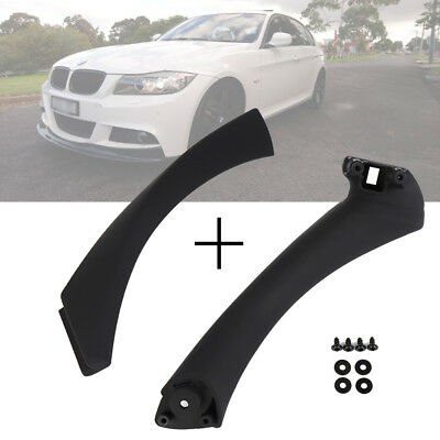 Right Inner Door Panel Handle Outer & Pull Trim Cover For BMW E90 3 Series