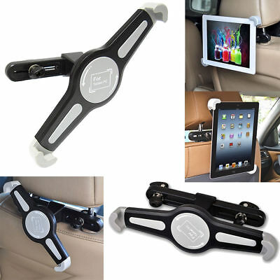 Universal Car Mount Seat Headrest Holder For iPad 2 3 4 Mini Air2 Pro 9.7-10.5""