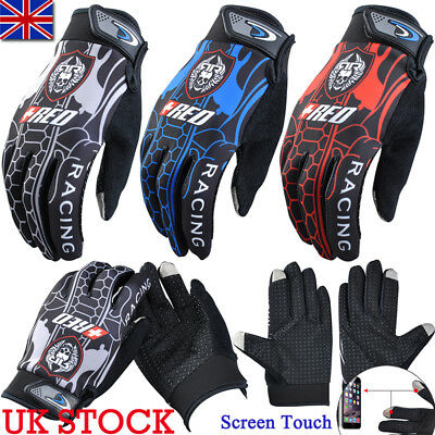 UK Touch Screen Full Finger Sports Driving Gloves Mittens Winter Sports Outdoor