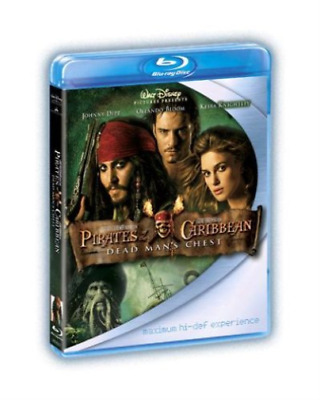 Johnny Depp, Orlando Bloom-Pirates of the Caribbean: Dead Man's Che Blu-ray NEUF