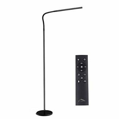 12W Dimmable Flexible Gooseneck Standing Floor LED Lamps for Living Room 4 Color