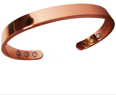 New Pure Copper Magnetic Arthritis Bracelet Energy Therapy For Men For Women