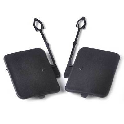 2pcs Rear Left Right Bumper Tow Hook Eye Cover Cap Fit for BMW X5 E70 2006-2011