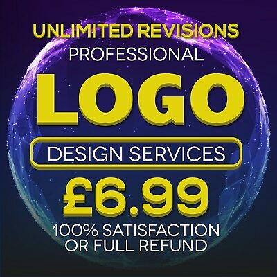 Professional Logo Design Service Fast, Reliable Unlimited Revisions 24H Service