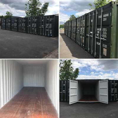 New 20Ft Self Storage Shipping Containers To Rent Coventry £100 Monthly Cctv