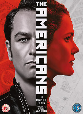 The Americans Complete Series, Seasons 1-6 [2018] (DVD)