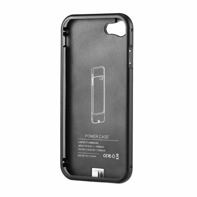 2800mAh Battery Backup Case Charger Pack Power Battery Case for IPhone 7@