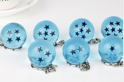1PC Cosplay Crystal Ball keychain Dragon Ball Z DBZ Pendant Accessories