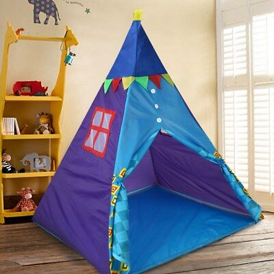 Children /Kids Wigwam Teepee Play Tent Game Playhouse Portable Tipi Out / Indoor