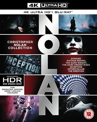 Christopher Nolan Collection 4K [Blu-ray] [2018] (Blu-ray)