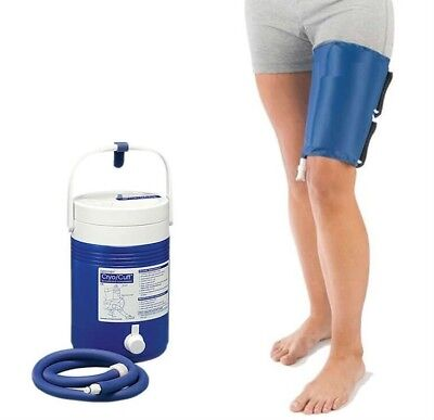 Thigh Cold Compression CryoCuff ,Cooler,Cryotherapy,Aircast compatible,UK Stock