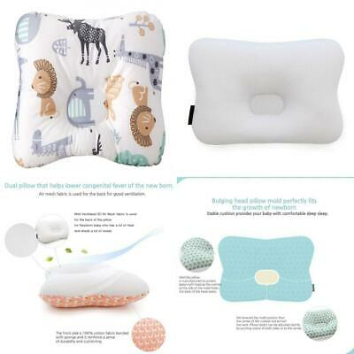 Baby Pillow for Newborn Breathable 3-Dimensional Cool Air Mesh Animal World