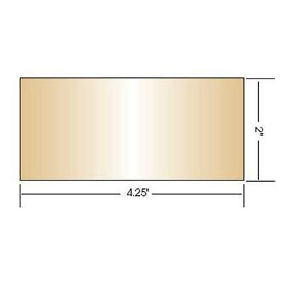 Gold Coated Green Welding Filter, 2 x 4.25 (Shade 10)