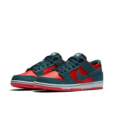 uk availability 4acc0 76e8d Men s Nike SB Dunk Low Pro Skateboarding Shoes NEW Red   Nightshade , MSRP   90