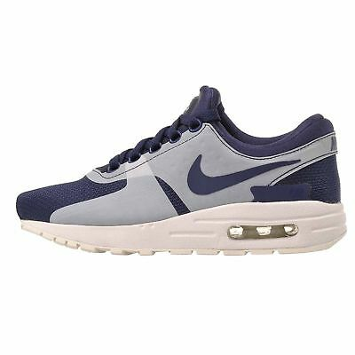 Big Kids' Nike Air Max Zero Essential Running Shoes NEW Blue, MSRP $100