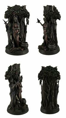 Resin Statues Danu Irish Triple Goddess of The Tuatha De Danann Bronze