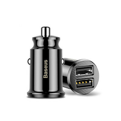 1* Smart Car Charger 3.1A PC Mini Dual USB HOT-Grain For Mobile Phone Tablet GPS
