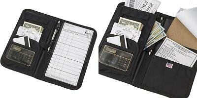 iServ Deluxe Waiter Book with Secure Money Pocket - Made in the USA -...