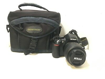 Nikon D D3100 14.2MP Digital SLR Camera - Black (Kit w/ AF-S DX G ED II 18-55mm