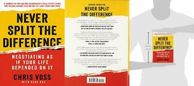 Never Split the Difference: Negotiating As If Your Life Depended On It...
