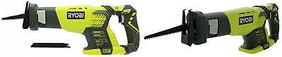 Ryobi P514 18V Cordless One+ Variable Speed Reciprocating Saw w/ 2 1 Pack