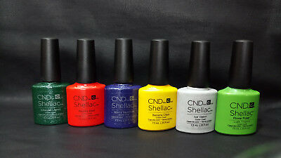 CND Shellac UV Nail Polish Pick from 135+ Colours 100% AUTHENTIC ONLY £9.60