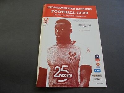 Kidderminster V Atherstone Fa Cup 2018/19