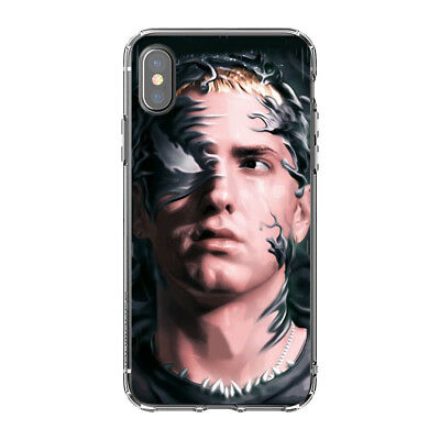 Silicone Phone case Hip Hop Emo Rap Eminem For iPhone Xs Max Xr X 8 7 6S Plus 5