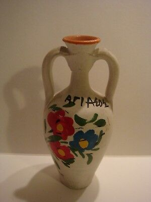 Old Greek Handmade Ceramic From Agiasos Mytilini Island