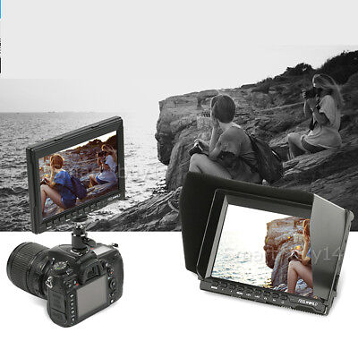 """7"""" HD 1280*800 IPS Video Dslr Camera LCD Field Monitor for SONY DSLR Camcorder H"""