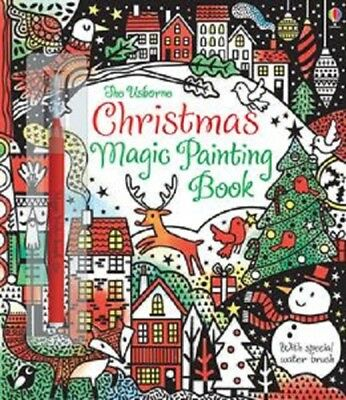 Usborne - Christmas Magic Painting Book (paint with water) - Free Ship w/$49